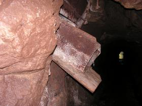 A Chute in the Kiln Tunnel